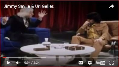 Image result for uri geller and savile