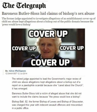 Image result for butler-sloss cover-up