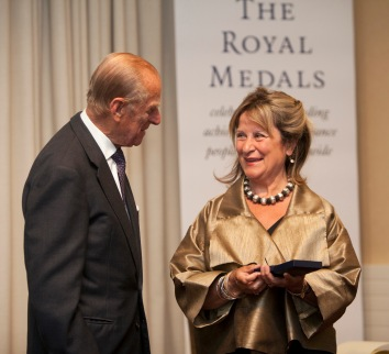 Image result for HRH The Duke of Edinburgh presents RSE Award to Baroness Helena Kennedy