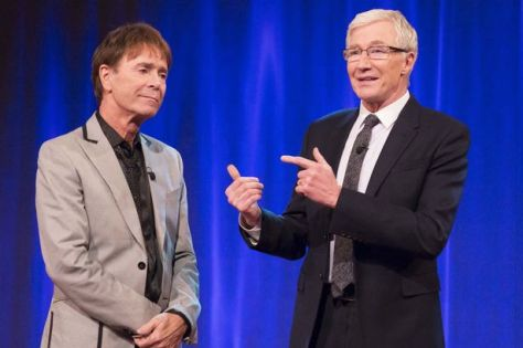 Image result for cliff richard and paul o'grady