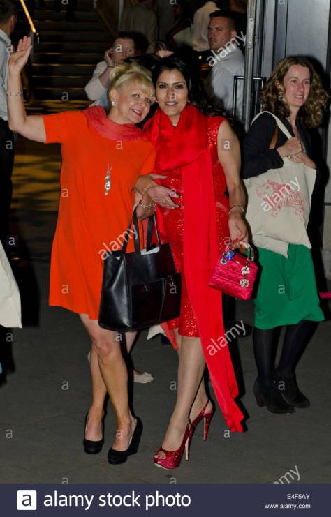 london-uk-9th-july-2014-women-in-red-leaving-labour-party-gala-dinner-e4f5ay